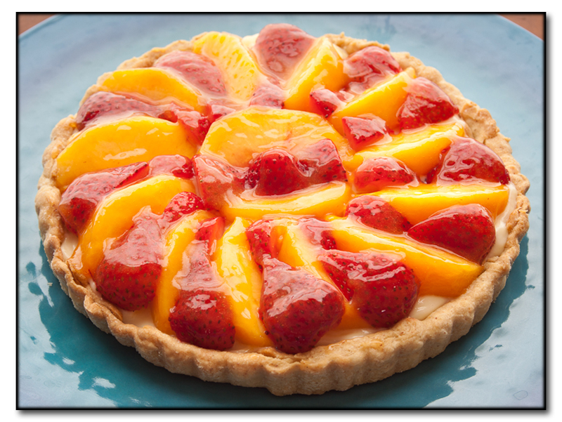 tart easy peach tart peach tart peaches and cream tart try this before ...
